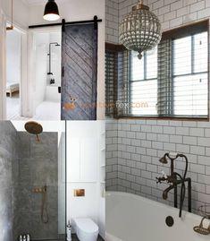 Best Loft Ideas - Loft Interior Design Ideas With Best Photos Loft Bathroom, Bathroom Floor Tiles, White Bathroom, Small Bathroom, Master Bathroom, Bathroom Ideas, Loft Interior Design, Loft Design, Bathroom Interior Design