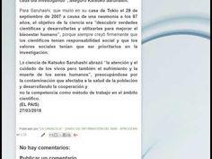 """Blog """"La Caracola"""" - Diario de a bordo - Aprocean Noticia del dia: Katsuko Saruhashi, la investigadora de la lluvia radiactiva en los océanos Enlace: http://aprocean.blogspot.com.es/ Noticias del Mar: https://plus.google.com/1080395888889... Aprocean en las redes sociales: Blog http://aprocean.blogspot.com.es/ Canal del Mar: https://www.youtube.com/c/CanaldelMar Twitter: https://twitter.com/aprocean Pinterest: https://www.pinterest.es/aprocean/1a-... Google…"""