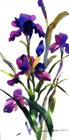 Pat Weaver- watercolor floral