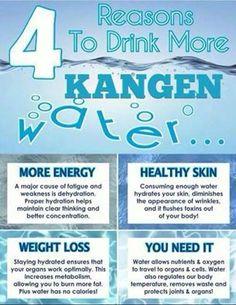 Why we drink Kangen....