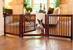 This selection of pet sofas, litter enclosures, and more proves that pet furniture hasn't gone to the dogs. Cedar houses and walnut-finished gates let pups rest and roam without getting into mischief, while lofty cat trees are playtime picks that blend in with existing decor.http://www.wayfair.com/daily-sales/Pet-Furniture-for-Indoors-%26-Out~E15097.html?refid=SBP.rBAZEVQK_exM8h0ylE5sAjsNY1YMAUaCkIxY-M0qUmI