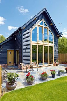 A Barn-style Village Home | Homebuilding & Renovating