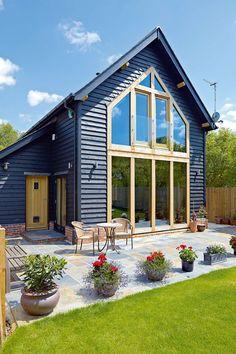 A Barn-style Village Home   Homebuilding & Renovating