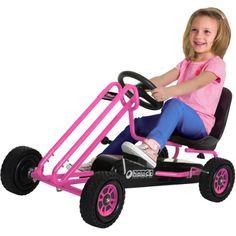 Speed Pedal Go Kart, Pink - Walmart.com