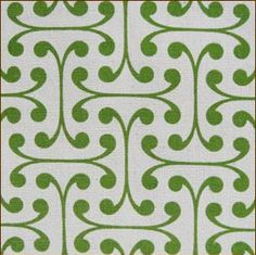 Cool mod green. |<3| By The Bolt | Fabric Pattern Reference: Mod Green Pod Organic Fabric Patterns