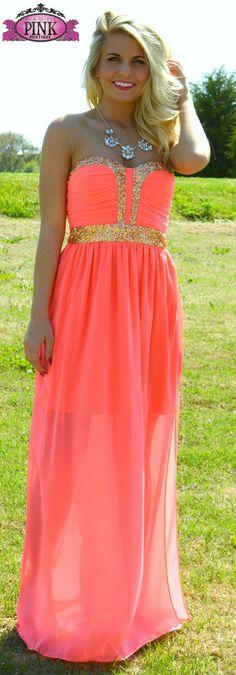 Oh My Chic Neon Maxi Dress | Haute Pink