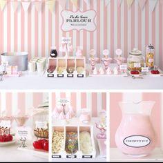 Ice-cream bar . Ideas we like at seventysixdesign . custom made jewellery . www.facebook.com/seventysixdesign