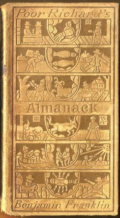 1898 edition of Benjamin Franklin's Poor Richard's Almanack