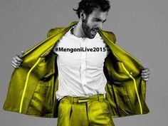 Marco Mengoni in concerto a Milano il 7 e l'8 maggio 2015.