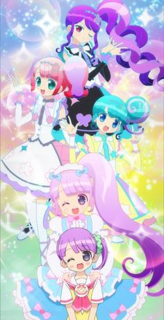 Pripara Triangle and Non