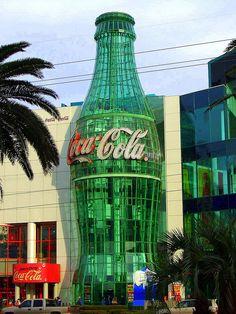 Coca-Cola bottle building