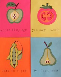 Fruity papercuts...