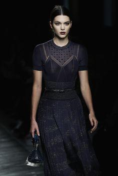 "kendallnjennerfashionstyle: "" "" February 27, 2016 - Bottega Veneta show during Milan Fashion Week. "" """