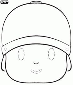 pocoyo coloring pages free - Google Search