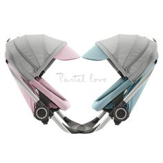 looking for the perfect pastel baby stroller? check out Stokke Scoot stroller in two new colors!