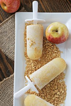 Apple Pie Popsicles | Cookie Monster Cooking