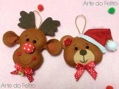 Fofuras de Natal | Arte do Feltro | Flickr