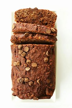 Quick and easy recipes: Chocolate peanut butter banana snack bread