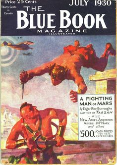 A Fighting Man Of Mars (Blue Book)