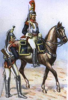 14 Regiment of Cuirassiers in 1812. Fig. B. Gembarzewski.