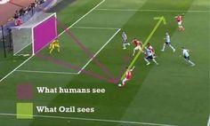 Mesut Ozil woli podać piłkę zamiast strzelić na bramkę • Taką ciekawą wizję gry ma piłkarz Arsenalu Londyn • Wejdź i zobacz więcej >> #ozil #arsenal #football #soccer #sports #pilkanozna