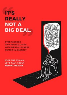 Mental Health Awareness Campaign Poster