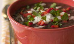 Black Bean Soup withSalsa Recipe - Relish
