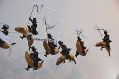 The banana riders Gilles Barbier Sculpture Art, Sculptures, Gilles, Fighter Jets, Banana, Indoor, Pictures, Contemporary Art, Kitchens