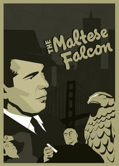 The Maltese Falcon (1941)--ranked by the AFI as the 31st Greatest Film of All-Time.