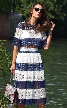 Alessandra Ambrosio Gucci Dionysus Bag