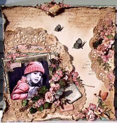 Waiting for Spring * Graphic 45 & Petaloo * - Scrapbook.com
