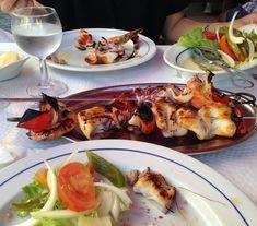 Tipp: Frischen Fisch essen in Porto, Afurada Shrimp, Buffet, Portugal, Meat, Chicken, Food, Porto, Tips, Recipies
