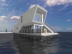 Houseboats C.F. Møller. Photo: C.F. Møller