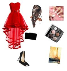 """Prom or homecoming"" by viv4540 ❤ liked on Polyvore featuring Jimmy Choo, John Lewis and Chanel"
