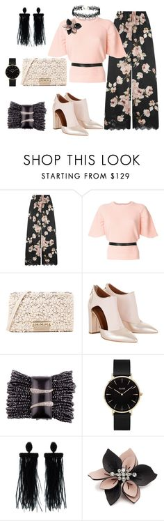 """Creating Something"" by kerashawn ❤ liked on Polyvore featuring Rosamosario, RED Valentino, ZAC Zac Posen, CLUSE, Oscar de la Renta and Marni"