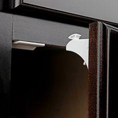 AmazonSmile: Safety Baby Magnetic Cabinet Locks - No Tools Or Screws Needed (4 Locks + 1 Key): Baby