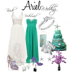"""""""Ariel Wedding"""" by courtdawggg on Polyvore"""