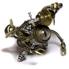 """""""Airship Beholder Robot - Relic 2nd"""" by Daniel Proulx"""