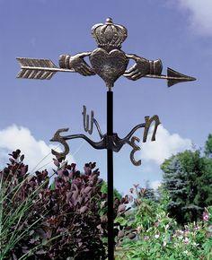 Claddagh Garden Weathervane