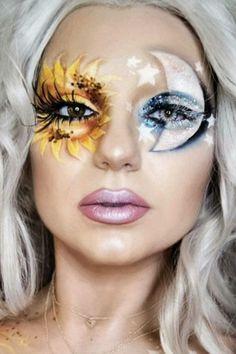 Halloween – Make-up Schminke und Co. Halloween – Make-up Schminke und Co. Beautiful Halloween Makeup, Halloween Makeup Looks, Cool Makeup Looks, Crazy Makeup, Amazing Makeup, Stunning Makeup, Pretty Makeup, Fx Makeup, Hair Makeup