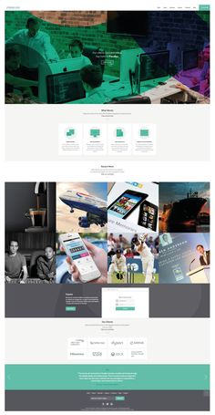 Scrolling Website homepage design ideas | https://parall.ax/