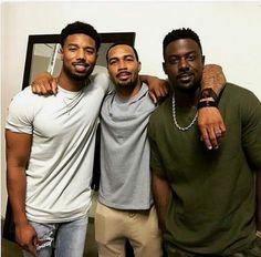 Black men Michael B Jordan Omari Hardwick Lance Gross Fine Black Men, Gorgeous Black Men, Handsome Black Men, Black Boys, Fine Men, Beautiful Men, Beautiful People, Black Man, Gorgeous Guys