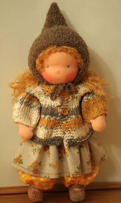 Organic Waldorf doll Larissa. cutest baby dolls of all time.