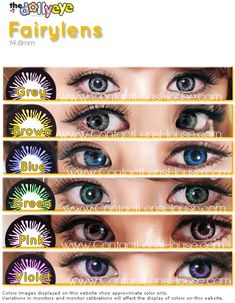 The Fairy lens is designed with one objective to get that angelic look just like a fairy eyes. Shop with us and look for our price saving deal online Green Contacts Lenses, Lenses Eye, Colored Contacts, Cosmetic Contact Lenses, Eye Contact Lenses, Pretty Eyes, Cool Eyes, Eye Lens Colour, Eye Color Chart