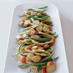 This colorful salad of green and yellow beans and waxy potatoes reminds Jonathan Benno of his brief stint in the kitchen at Al Di Là, a wildly popula...