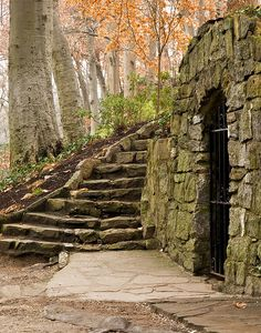 steps and gate Falls River Place, Greenville, SC photo by Jim Fowler Looks like a place from LOTR