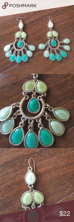 Beautiful and fun Premier Designs Earrings These are super cute!! Great for summertime Premier Designs Jewelry Earrings