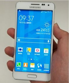 Samsung Galaxy Alpha-nice addition to the Android line up of phones!