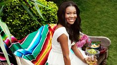 Gabrielle Union // a Mexican Valentine's Day fiesta // entertaining