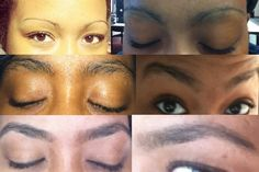 """""""The Emancipation of my Eyebrows"""" This is a GREAT visual of a 5.5 week time period total transformation of growing out your eyebrows to get the shape you want! Lonz has great advice to get started with the process!"""